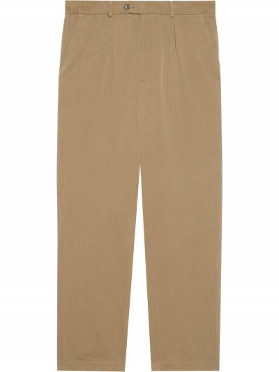 Gucci high-waist tailored trousers 639398ZAF7Y - 1
