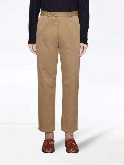Gucci high-waist tailored trousers 639398ZAF7Y - 3