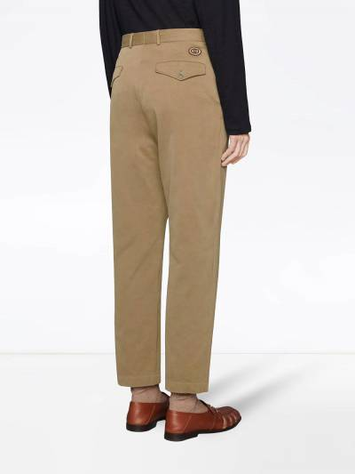Gucci high-waist tailored trousers 639398ZAF7Y - 4