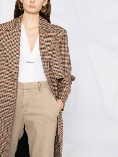 Brunello Cucinelli брюки чинос кроя слим MA080P5398 - 3