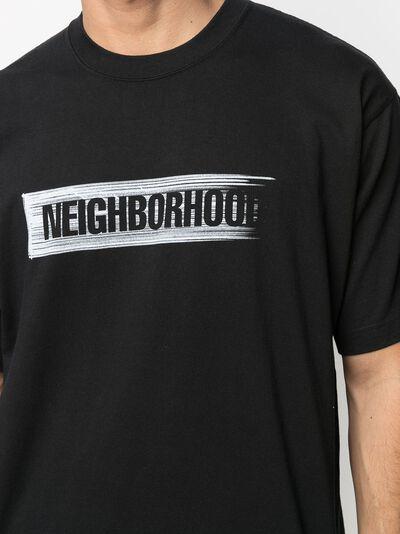 Neighborhood футболка с логотипом 202PCNHST11 - 5