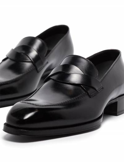 Tom Ford Elkan leather loafers J1183TANU - 2