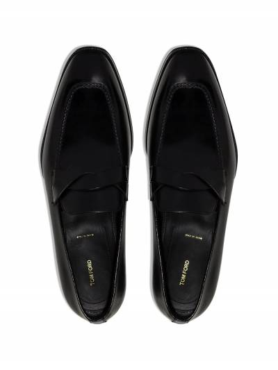 Tom Ford Elkan leather loafers J1183TANU - 4