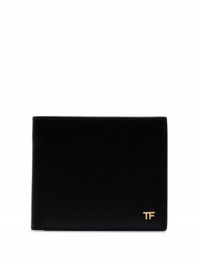 Tom Ford Black T Line Classic Leather Bifold Wallet Y0228TLCL053 - 1