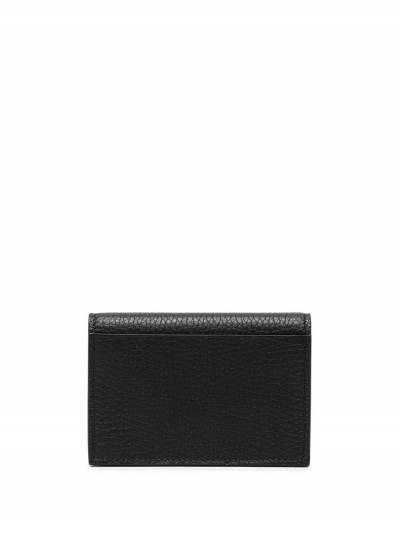 Tom Ford Black Grained Leather Bifold Wallet Y0277TLCL035 - 2