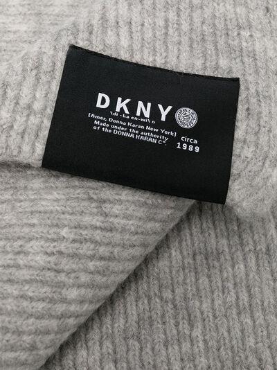 DKNY Kids вязаный шарф с нашивкой-логотипом D31269 - 2