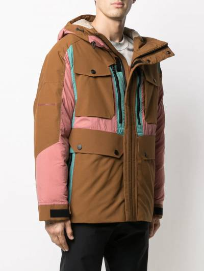 Colmar contrast panel hooded jacket CJ108 - 3