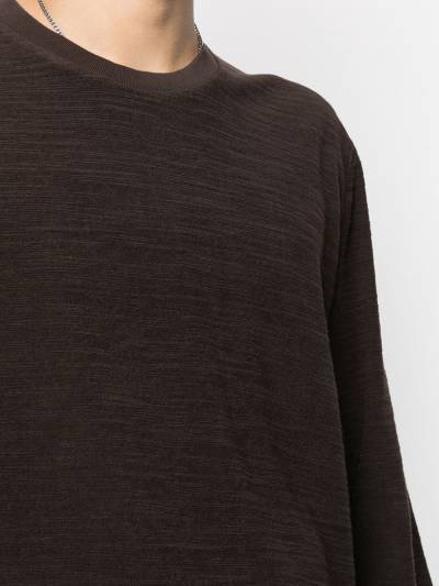 Our Legacy round neck jumper M4206BBR - 5