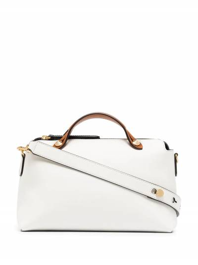 Fendi White By The Way Medium leather shoulder bag 8BL1465QJ - 1