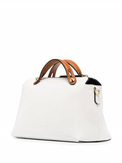 Fendi White By The Way Medium leather shoulder bag 8BL1465QJ - 3