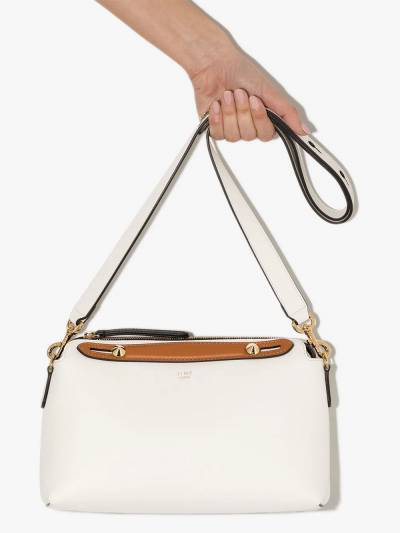 Fendi White By The Way Medium leather shoulder bag 8BL1465QJ - 4
