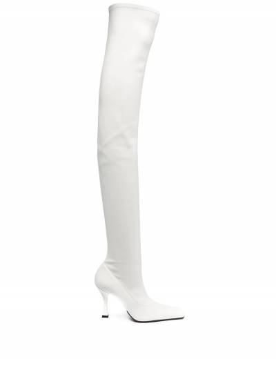 Proenza Schouler square-toe over the knee boots PS35212B12314 - 1