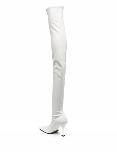 Proenza Schouler square-toe over the knee boots PS35212B12314 - 3
