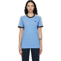 Wales Bonner Blue adidas Originals Edition Logo T-Shirt GQ9382