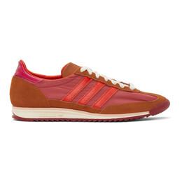 Wales Bonner Pink adidas Originals Edition SL72 Sneakers FX7502