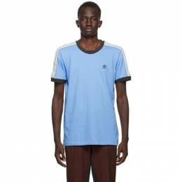 Wales Bonner Blue adidas Originals Edition Logo T-Shirt GQ9382