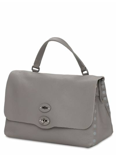 Postina Pura Medium Leather Bag Zanellato 73IXNV001-U0FTU081 - 1