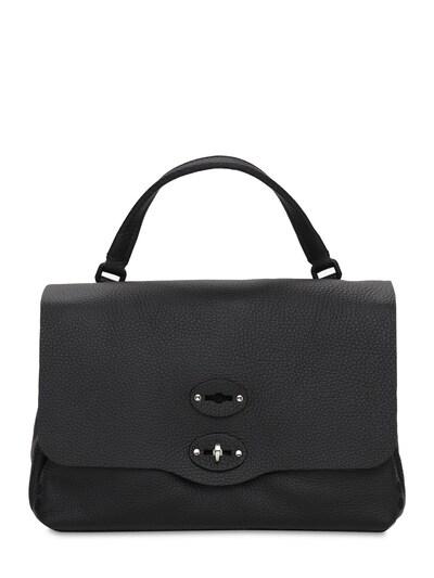 Postina Pura Small Leather Bag Zanellato 73IXNV003-RVROQQ2 - 1