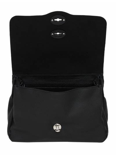 Postina Pura Small Leather Bag Zanellato 73IXNV003-RVROQQ2 - 4