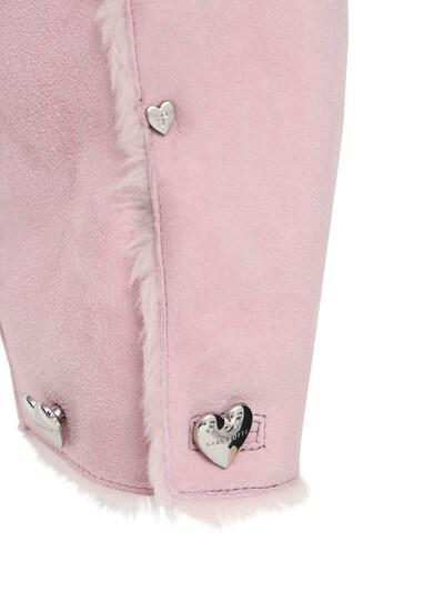Куртка Из Овчины Saks Potts 73IRTF013-QkFCWSBQSU5L0 - 5