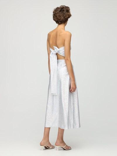 Платье Миди Из Джерси Стрейч Saks Potts 73IRTF010-U0lMVkVSIFNISU1NRVI1 - 3