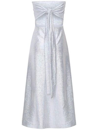 Платье Миди Из Джерси Стрейч Saks Potts 73IRTF010-U0lMVkVSIFNISU1NRVI1 - 5