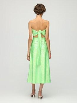 Платье Миди Из Джерси Стрейч Saks Potts 73IRTF009-R1JFRU4gU0hJTU1FUg2