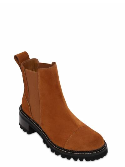45mm Suede Ankle Boots See By Chloe 73IL4L010-NTgx0 - 1