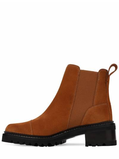 45mm Suede Ankle Boots See By Chloe 73IL4L010-NTgx0 - 3