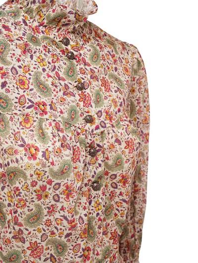Платье Из Хлопка С Принтом Etro 73ID4M064-MDk5MA2 - 2