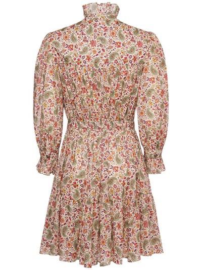 Платье Из Хлопка С Принтом Etro 73ID4M064-MDk5MA2 - 3