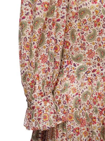 Платье Из Хлопка С Принтом Etro 73ID4M064-MDk5MA2 - 4