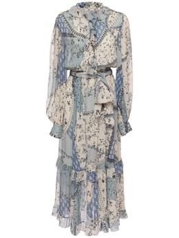 Платье Из Шелка Etro 73ID4M052-MDI1MA2