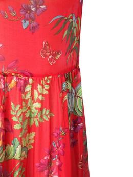 Платье Из Хлопка И Шелка Etro 73ID4M034-MDYwMA2