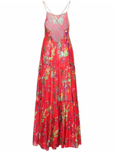 Платье Из Хлопка И Шелка Etro 73ID4M034-MDYwMA2 - 3