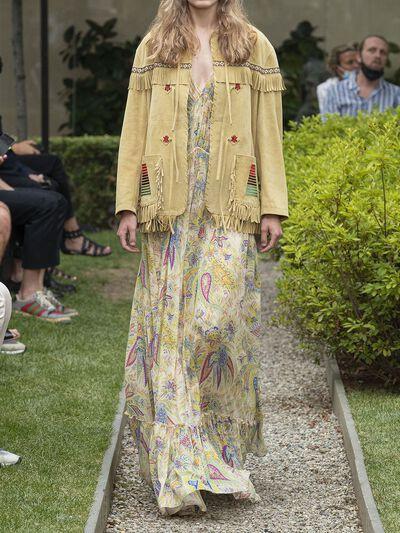 Платье Из Шелка Etro 73ID4M018-ODAwMA2 - 1