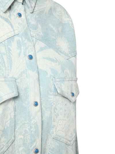 Куртка Из Деним С Принтом Etro 73ID4M004-MDIwMA2 - 2