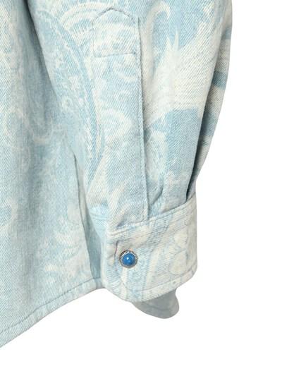 Куртка Из Деним С Принтом Etro 73ID4M004-MDIwMA2 - 4