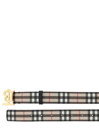 """Ремень """"tb Vintage"""" 3.5cm Burberry 73ID1H045-QTcwMjY1 - 2"""
