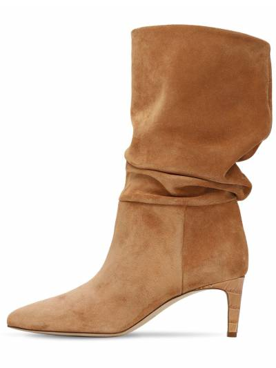 60mm Slouchy Suede Boots Paris Texas 73ICCL001-VEVSUkE1 - 1