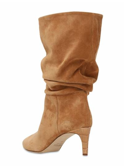 60mm Slouchy Suede Boots Paris Texas 73ICCL001-VEVSUkE1 - 3