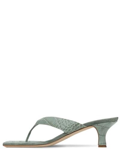 Кожаные Босоножки Portofino 55мм Paris Texas 73ICCL006-QUdBVkU1 - 1