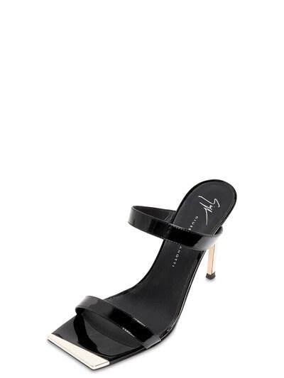 Туфли-мюли Из Лакированной Кожи 105mm Giuseppe Zanotti Design 73IA5O008-MDEw0 - 2