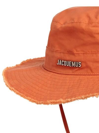 "Шапка Из Канвас ""le Bob Artichaut"" Jacquemus 73I5CK043-VEVSUkFDT1RUQQ2 - 2"