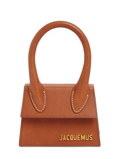 "Кожаная Сумка ""le Chiquito"" Jacquemus 73I5CK008-QlJPV041 - 1"