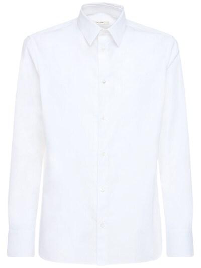 Рубашка Jasper Из Хлопка Поплин The Row 72IBF8004-V0hU0 - 1