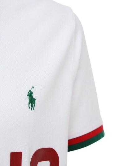 Хлопковое Поло Polo Ralph Lauren 72I7Q4008-MDAy0 - 2