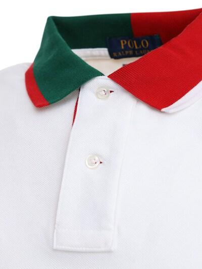 Хлопковое Поло Polo Ralph Lauren 72I7Q4008-MDAy0 - 3