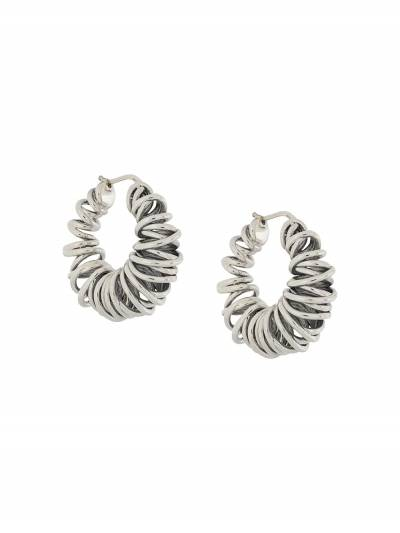 Bottega Veneta coil hoop earrings 649276V5070 - 1