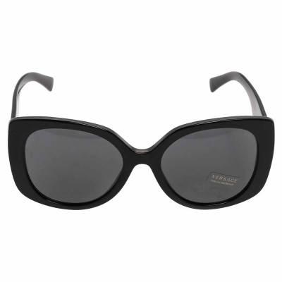 Versace Medusa Black Medusa Icon Squared Sunglasses 358291 - 1